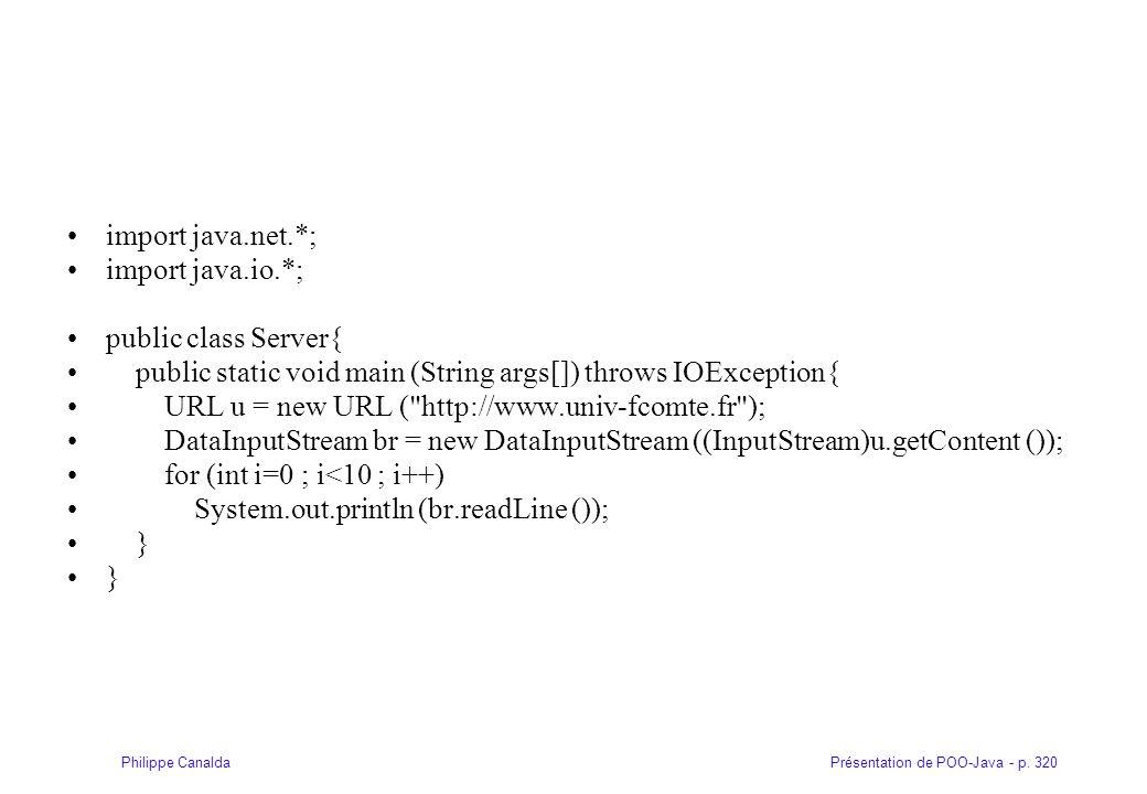 import java.net.*; import java.io.*; public class Server{ public static void main (String args[]) throws IOException{